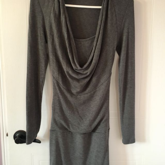 Le Château grey dress - XS
