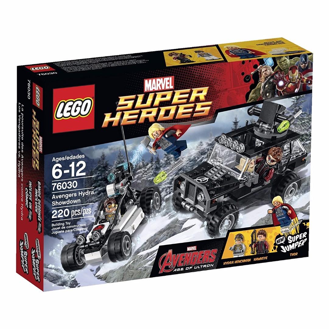 Lego Marvel Superheroes 76030 Avengers Hydra Showdown