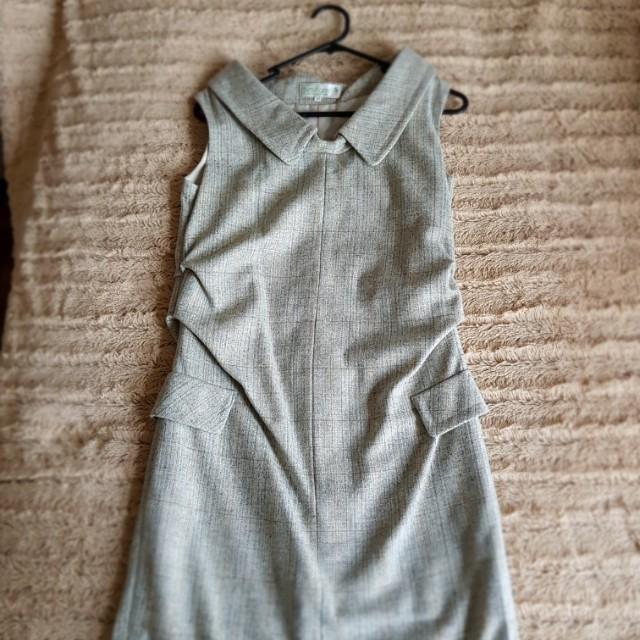 Light grey dress size small