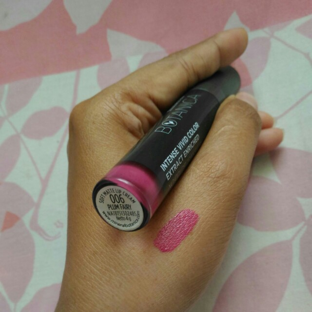 Lip cream mineral botanica