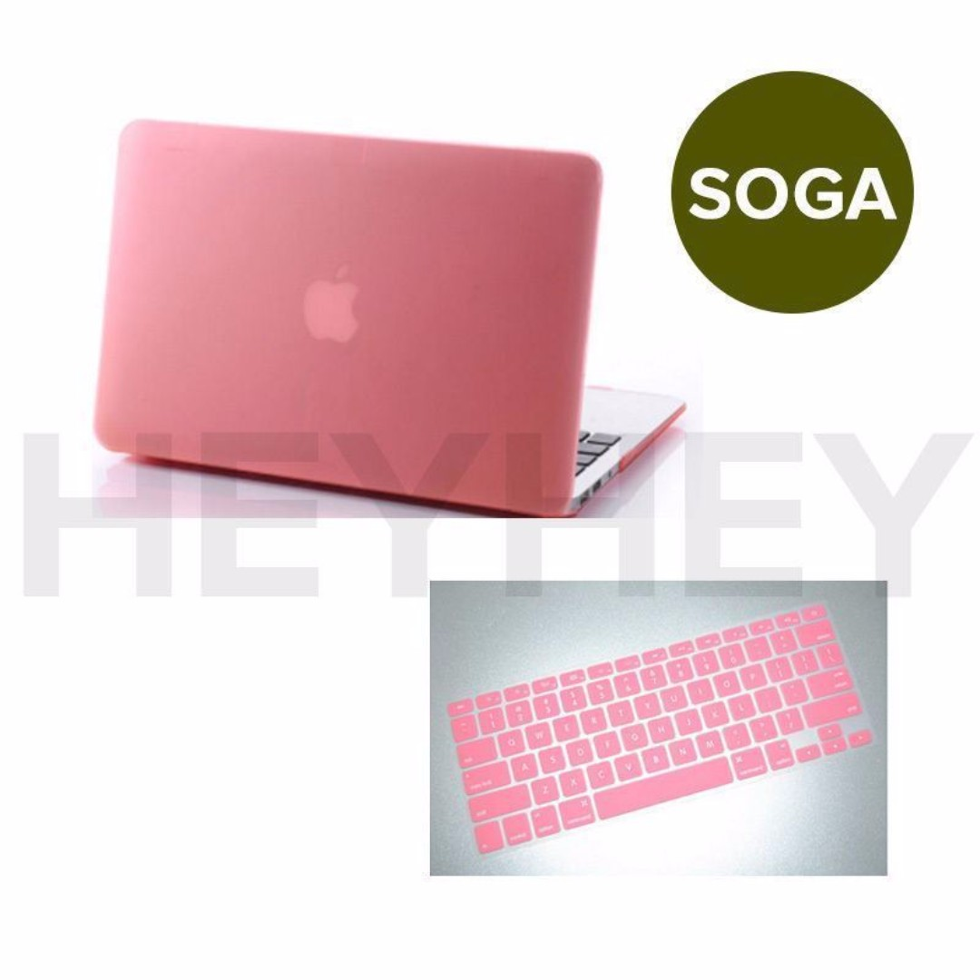 """Macbook Crystal Hard Case + Keyboard Cover Pro Air 11"""" 13"""" 15"""" &2016 Pro 13"""" 15"""""""