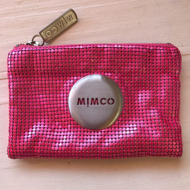 Mimco Mini Purse Pink