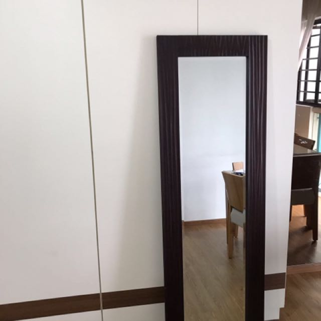 Moving Sale Bedroom Mirror 56x168cm Furniture Home Decor On Carousell