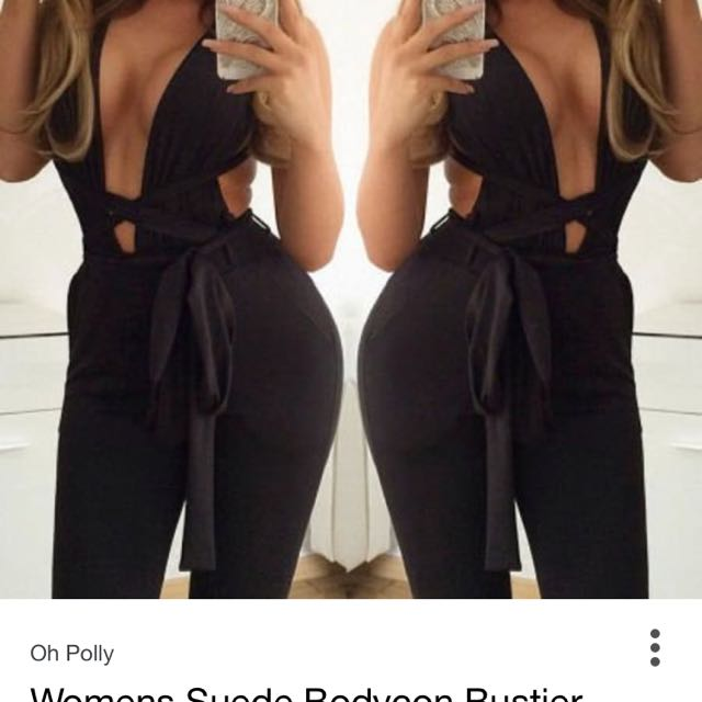 Multiway Black Stretch Jumpsuit