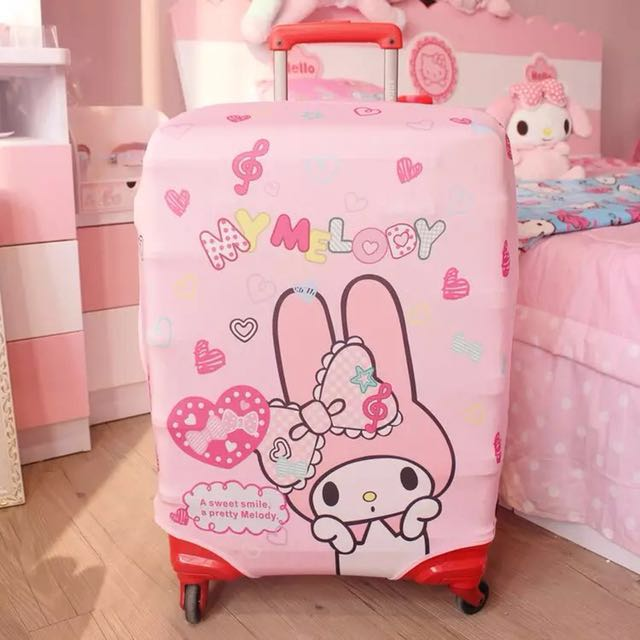 c1d86b642421 My Melody and Hello Kitty Luggage Covers