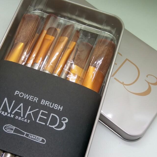 Naked 3 - 12pc Brush Set