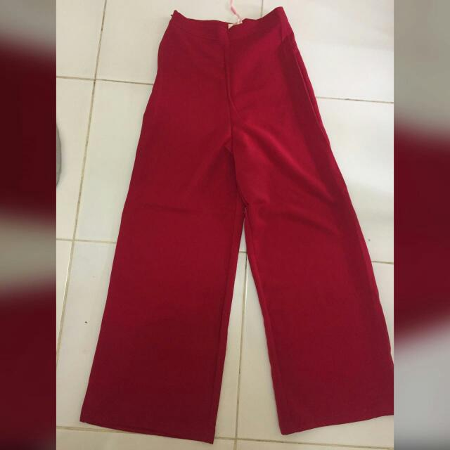 new long culot in red