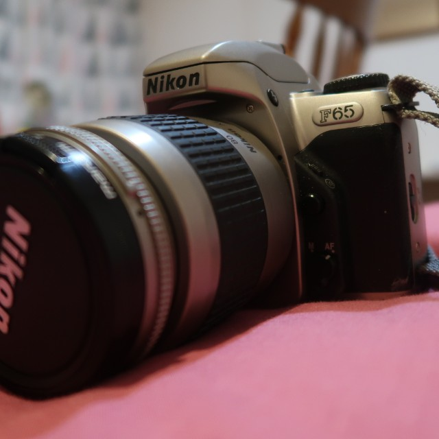 Nikon F65 Film Camera with 28-80mm lens