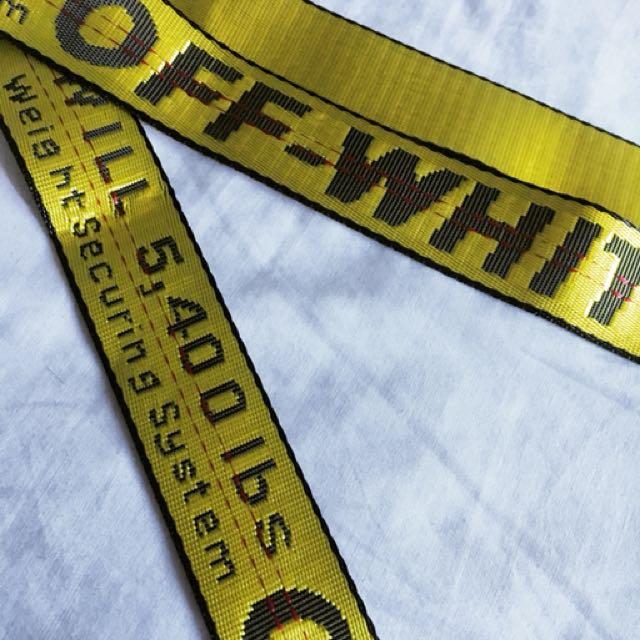OFF WHITE (replica) belt