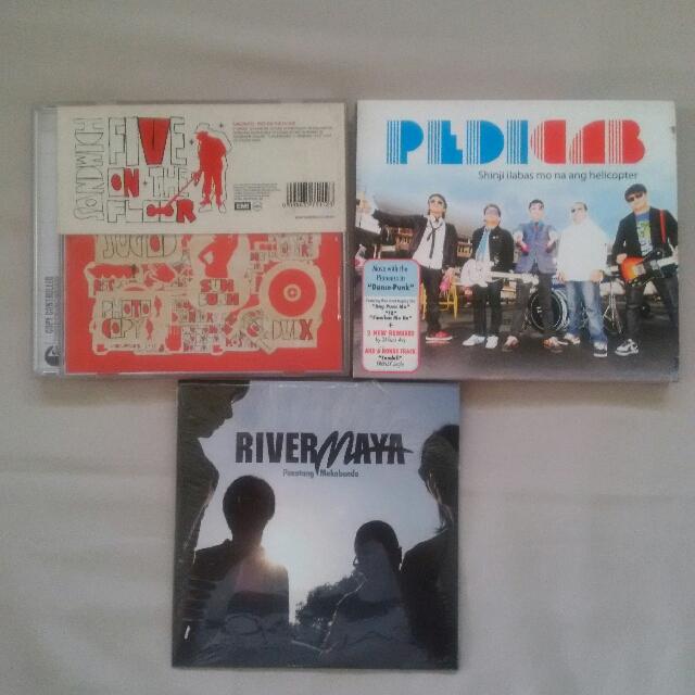 Original OPM Audio CDs