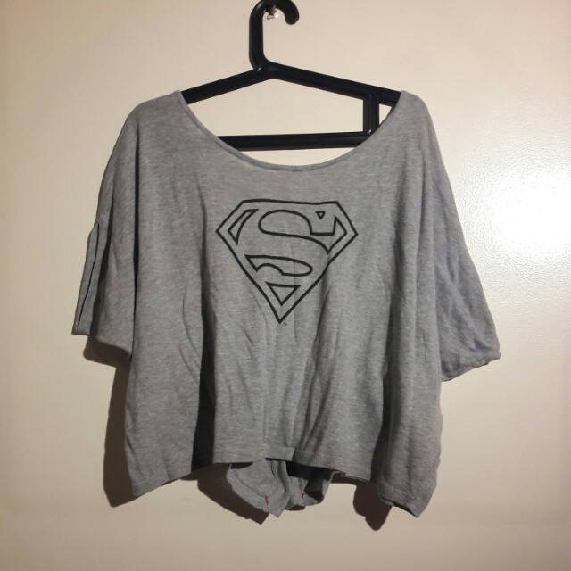 Original Supergirl DC Crop Top