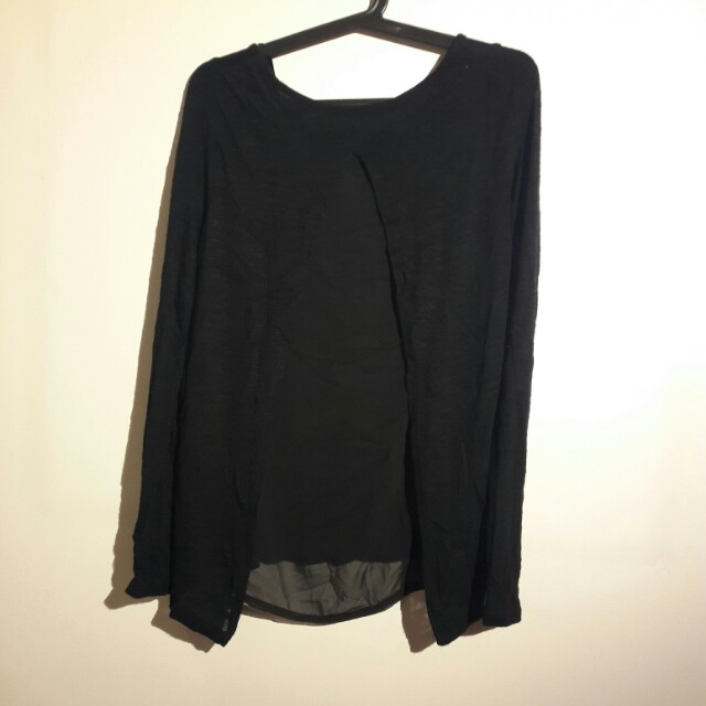 Original Terranove Black Blouse