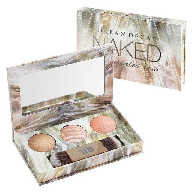 ORIGINAL Urban Decay Naked Illuminated Trio