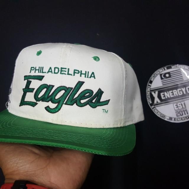 Original vintage cap taq ss .. scripe nfl team eagles 12fddb1f2c0
