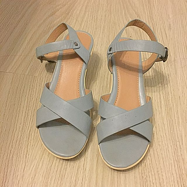 Parisian Powder Blue Sandals
