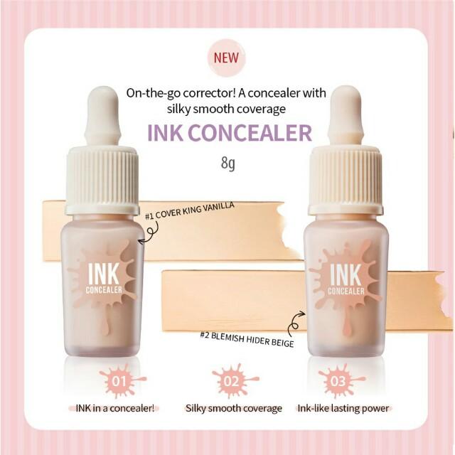 💖Peripera Ink Concealer #2 Beige