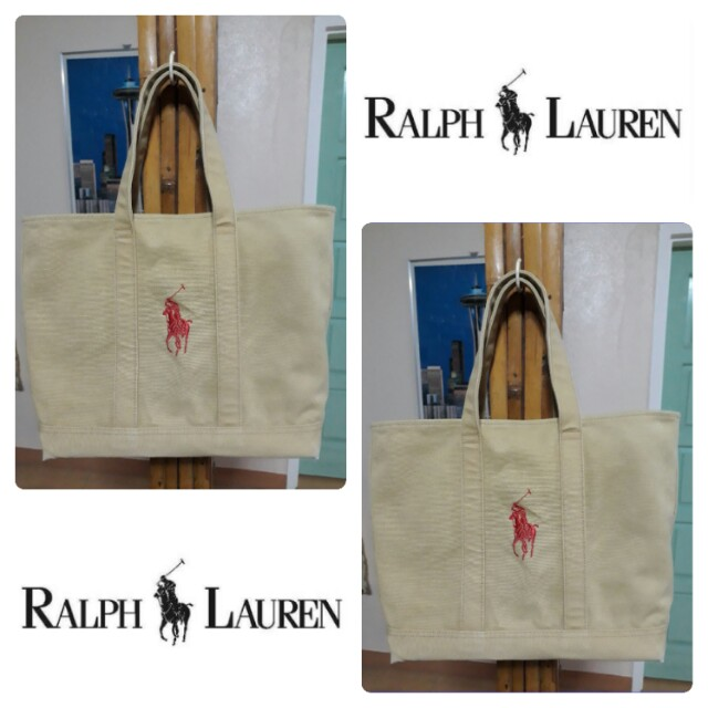 Polo by Ralph Lauren Canvas Shopper Tote