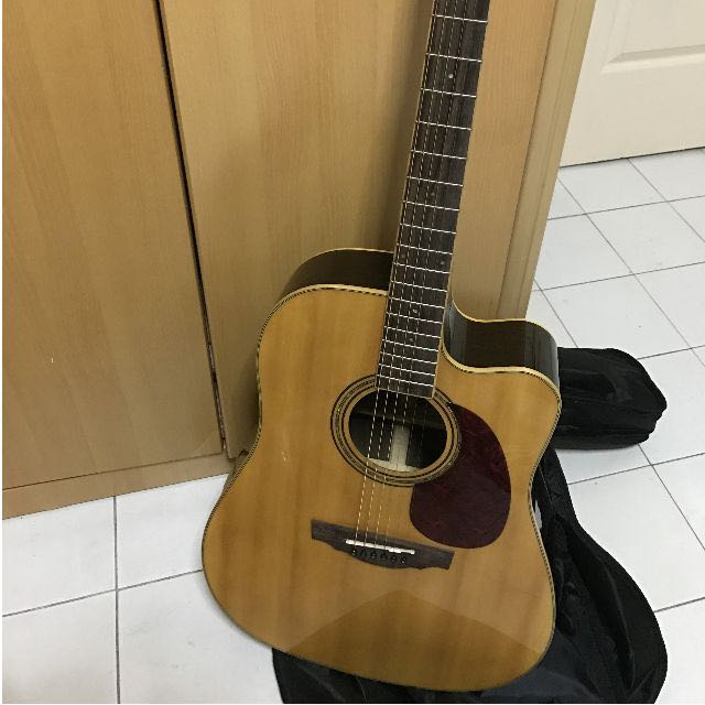 Price Reduced* Synchronium Acoustic Guitar with Bag (Model