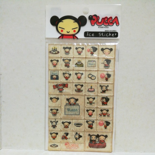 Pucca Ice Sticker