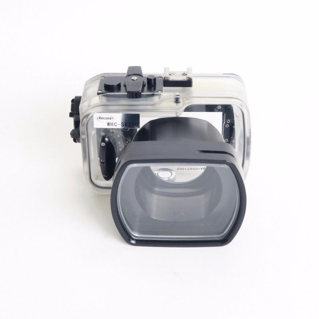 Recsea underwater housing for SX210 Canon