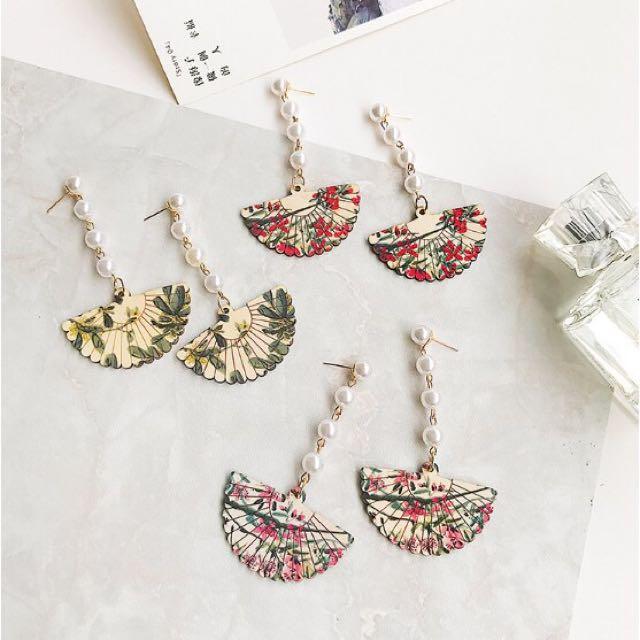 Red Shanghai Earrings