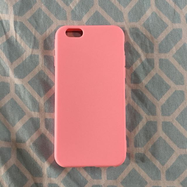 Rose Pink Case for iPhone 6/6s