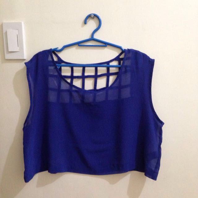 SALE!!! Forever 21 See Through Cropped Top