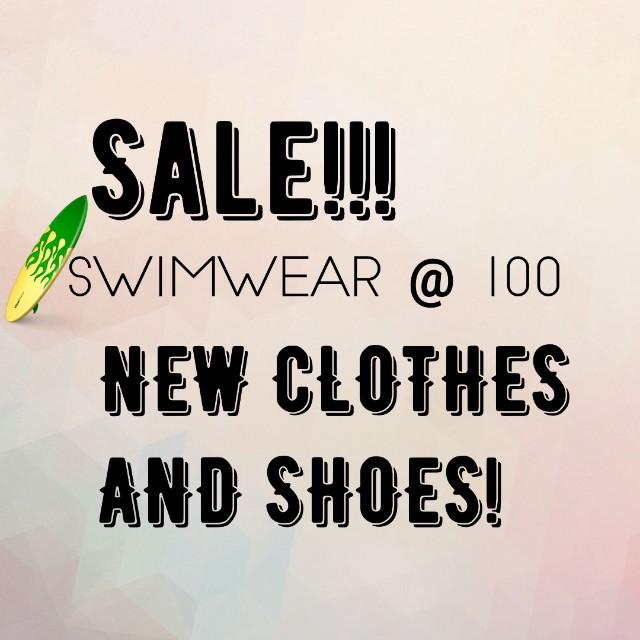 SALE ITEMS SHOES SWIMSUIT CLOTHES