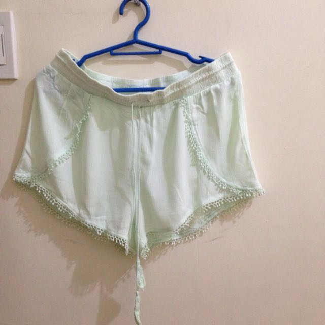 SALE!!! Lime Green Shorts