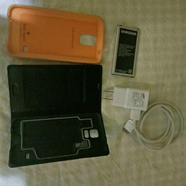 Samsung s5 accessories bundle...