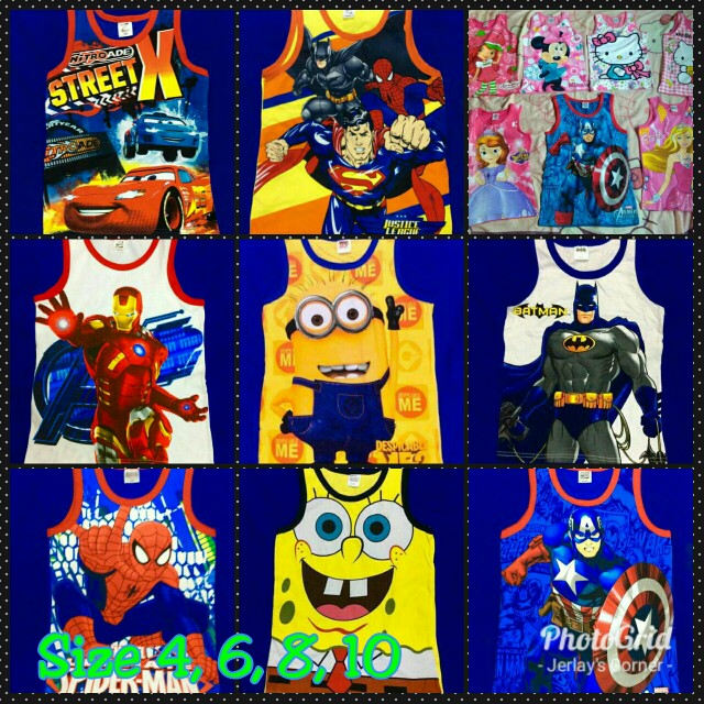 Sando with Cartoon Characters