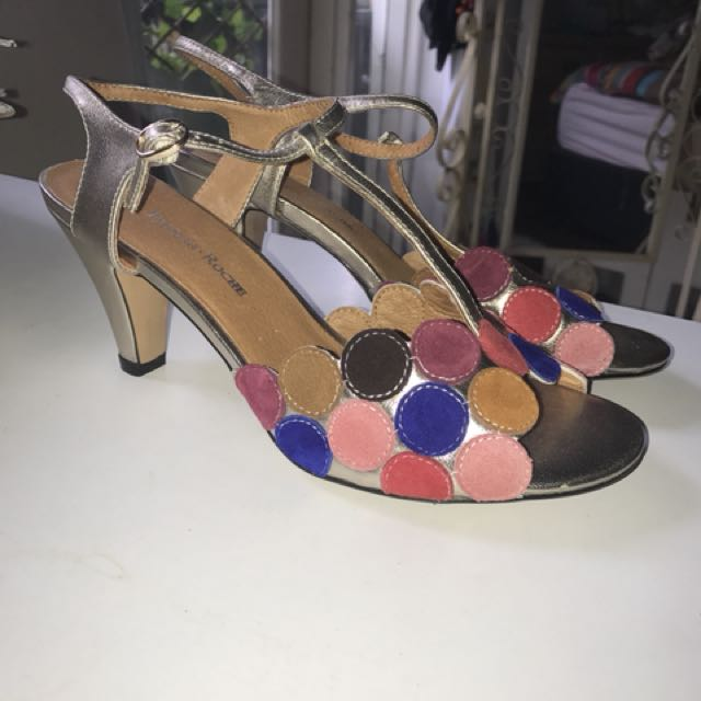 Size 41, Parker + Roche mid heels (new)