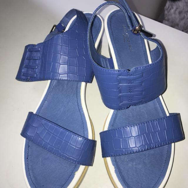 Summer blue sandles ❤️