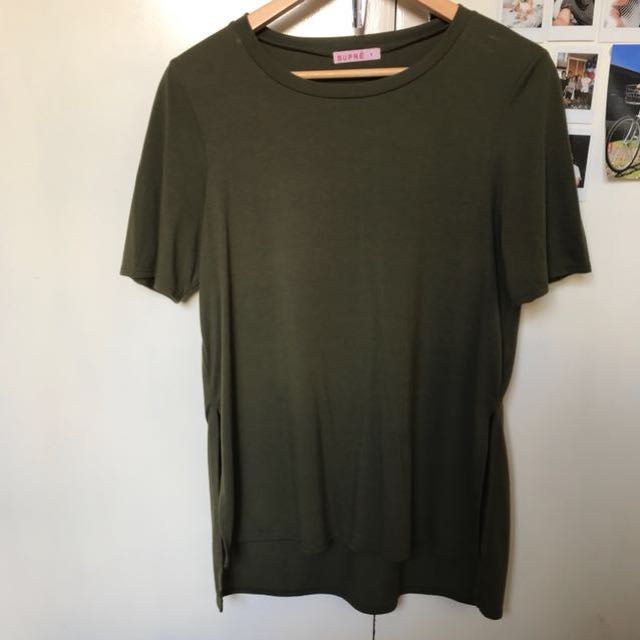 Supre shirt with slits