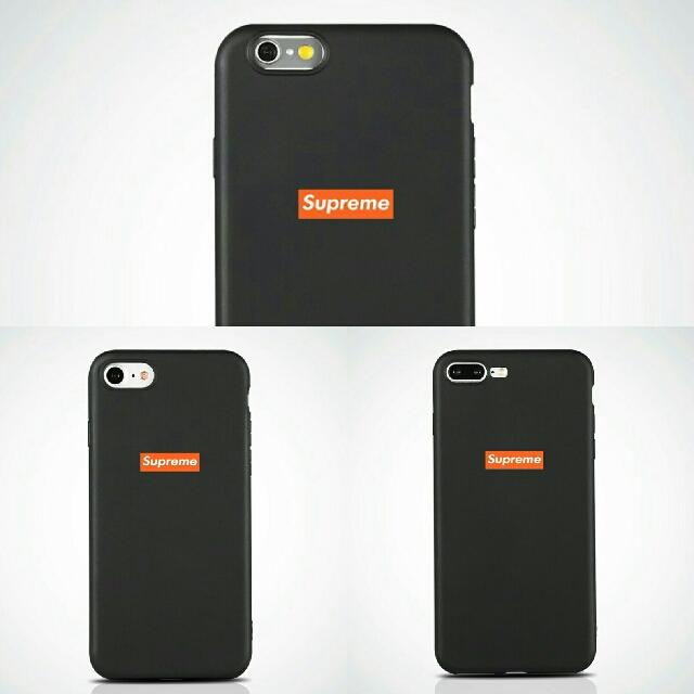SUPREME Soft Matte iPhone Case