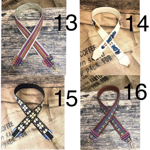 Tali Tas Selempang Lucu - Strap Bag Motif Batik Murah - Longstrap Bag Bunga - Aksesoris