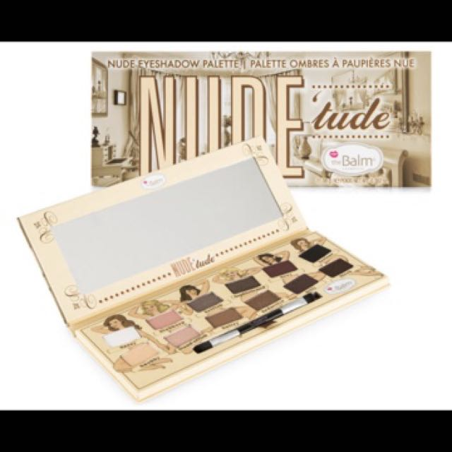 The balm nude eye palette