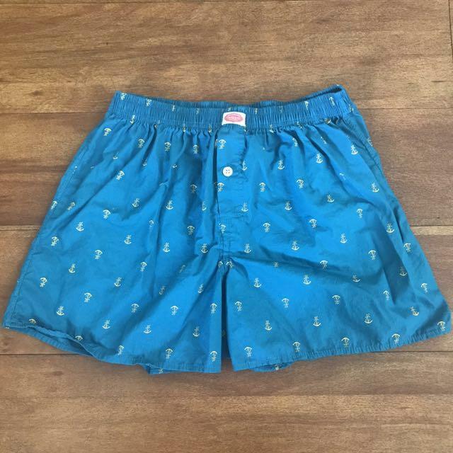 TIMELESS Blue Green Boxer Shorts