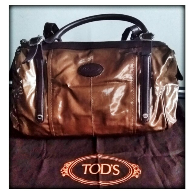 Tods Falco Coated T-bag