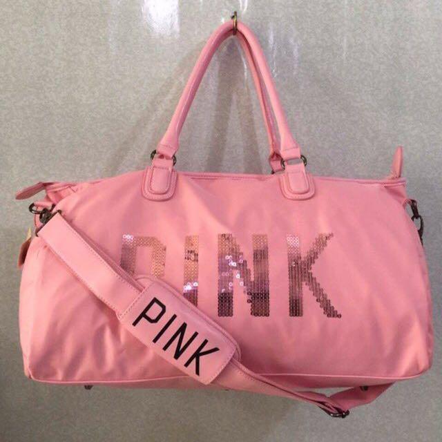 Victoria S Secret Pink Travel Bag Essentials Luggage On Carou