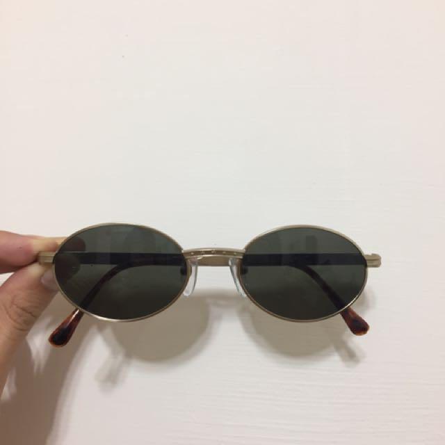 Vintage 復古太陽眼鏡 金框眼鏡