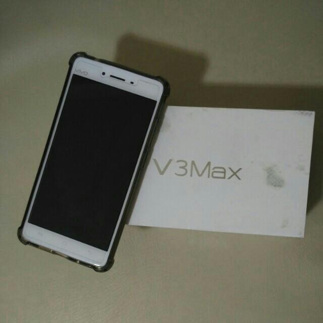 vivo v3 max white complete