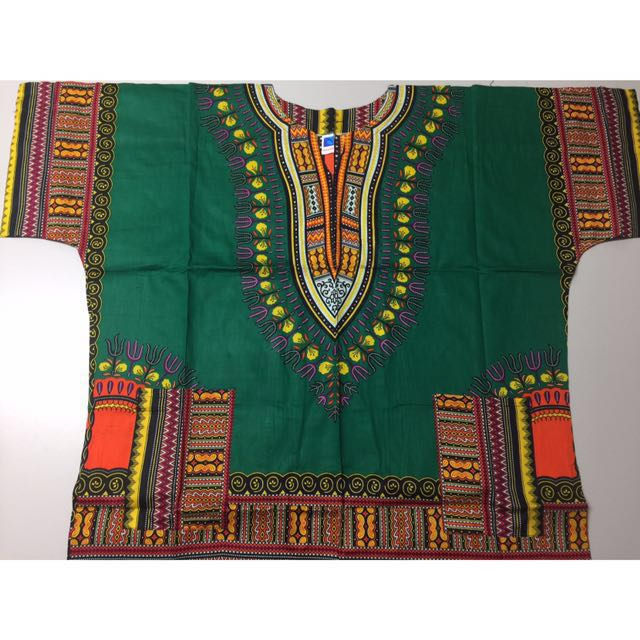 West African Dashiki shirt