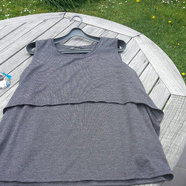 Whistle grey top XL