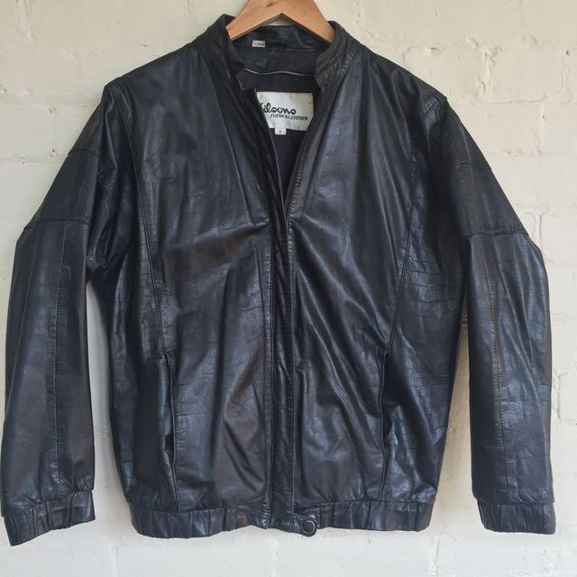 Wilson 100% leather coat