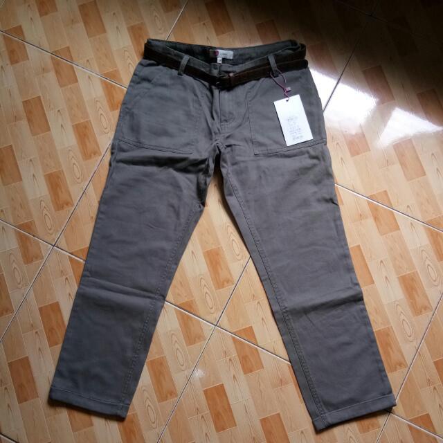 Women's Pants with belt