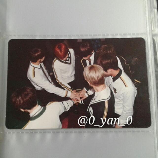 [WTS Only] BTS 3rd Muster DVD Group Official Photocard