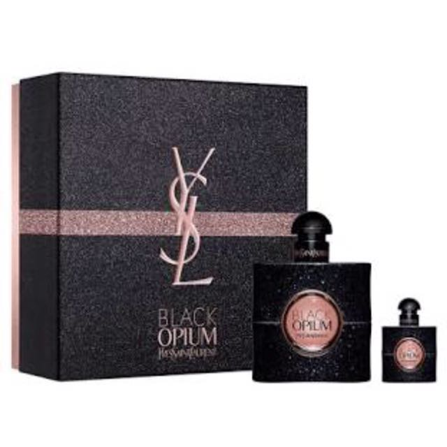 YSL black opium edp gift set 1 x 50ml 1 x 7.5ml