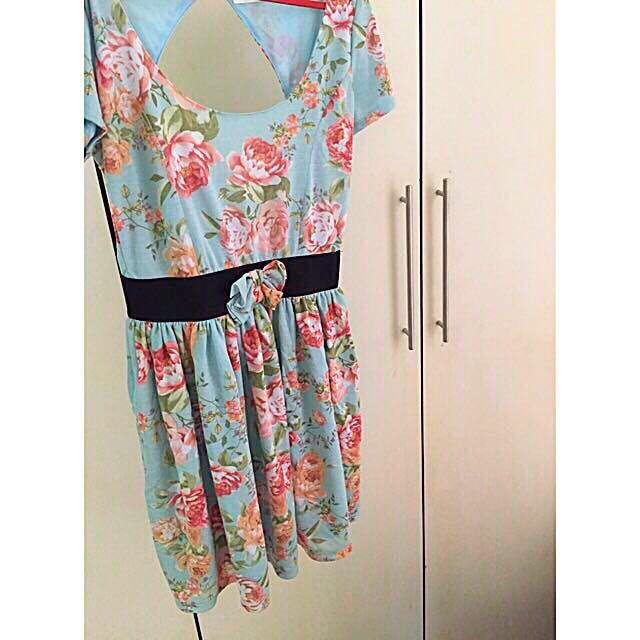 Zara floral dress (PL)
