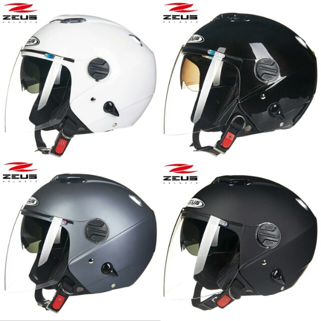 Zeus Helmet 202FB (Sunglasses Built-in) Brand New